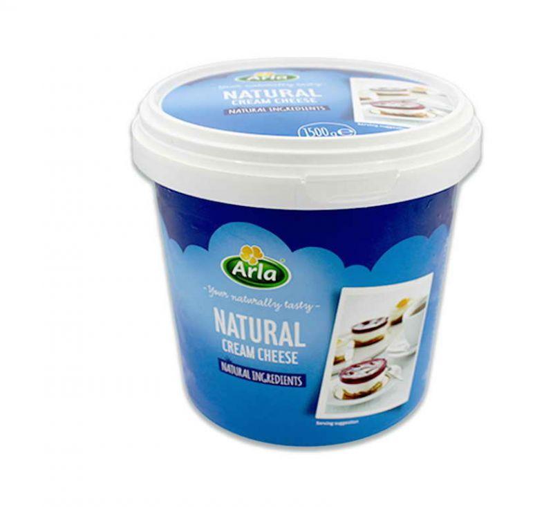 Крем-Сир Натуральний 70% 1,5 кг Arla