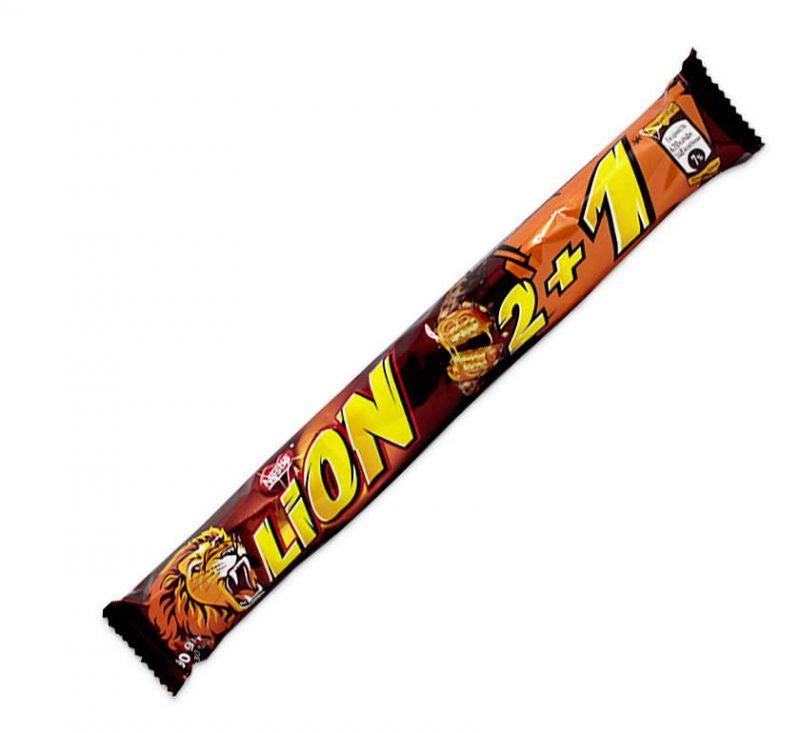 Батончик Lion 2+1 90 г Nestle