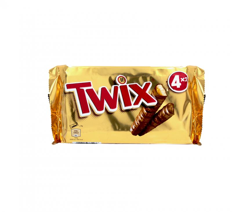 Печиво пісочне з карамеллю і молочним шоколадом 50 г Twix