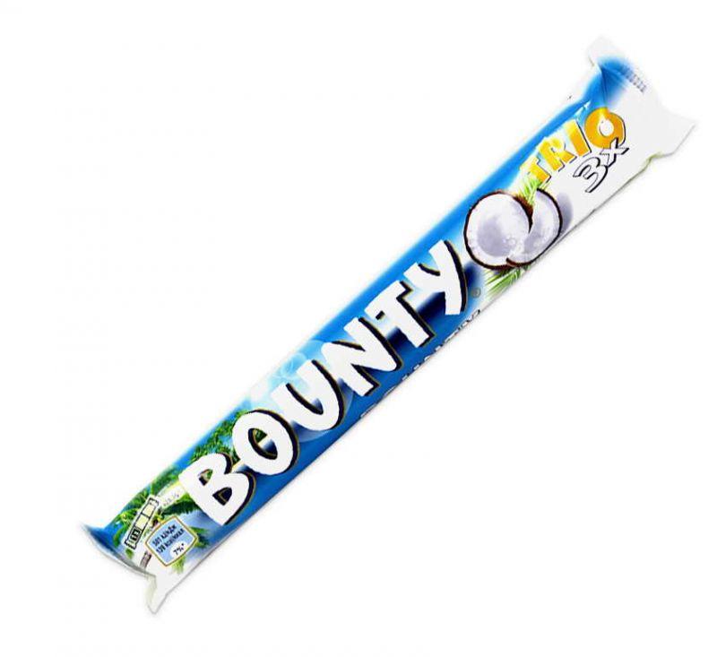 Батончик шоколадний з кокосовою начинкою 85 г Bounty Trio