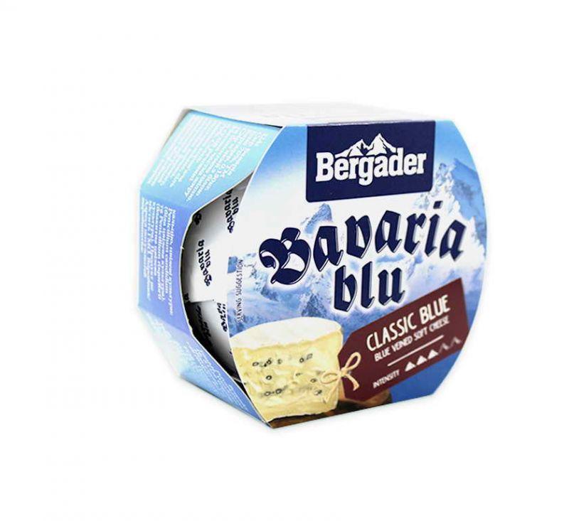 Сир м'який з білою та блакитною пліснявою 70% 150 г Bavaria blu