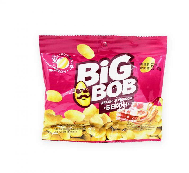 Арахіс зі смаком «Бекон» 30 г Big Bob
