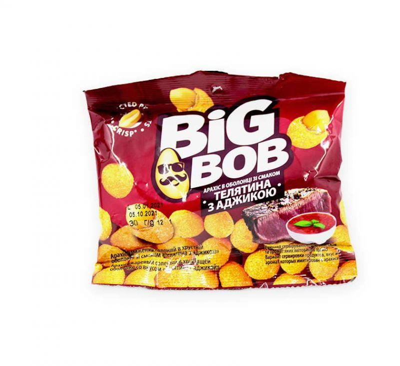 Арахіс зі смаком «Телятина» 30 г Big Bob