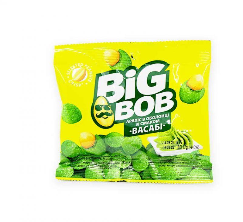 Арахіс зі смаком «Васабі» 30 г Big Bob