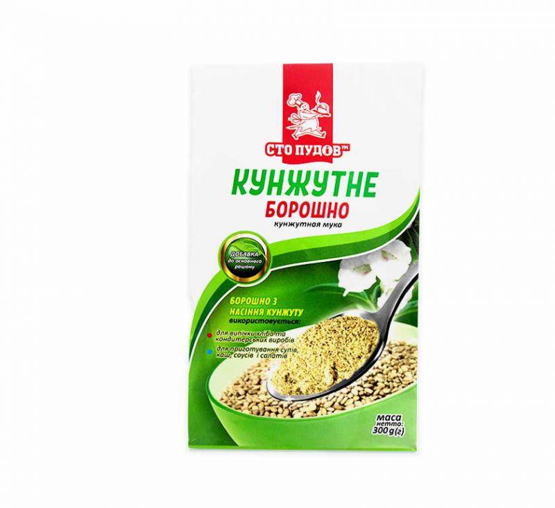 Борошно з насіння кунжуту 300 г Сто Пудов