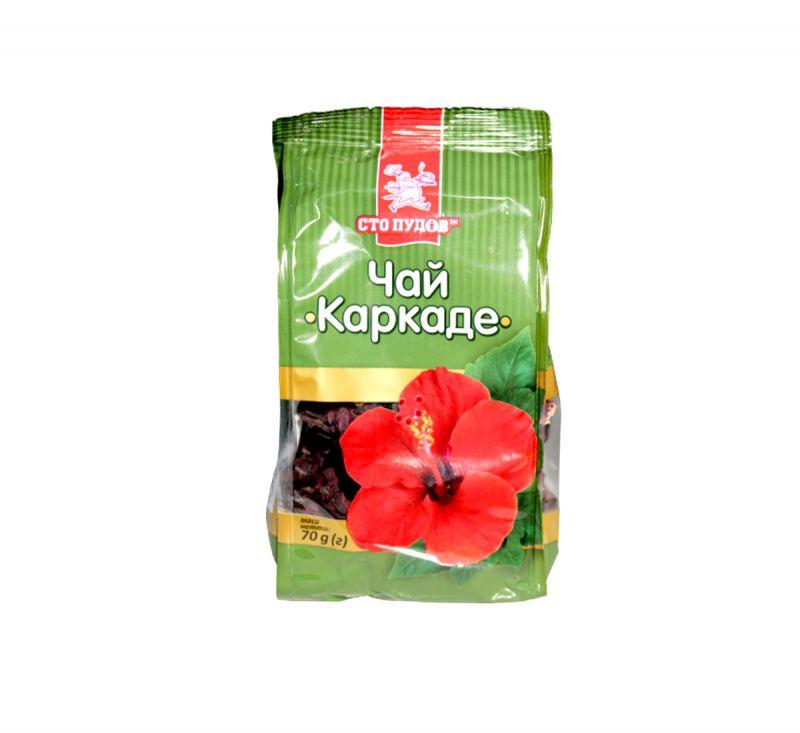 Чай Каркаде 70 г Сто Пудов