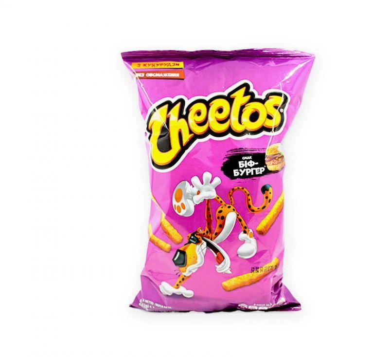 Палички кукурудзяні зі смаком «Біф-Бургер» 70 г Cheetos