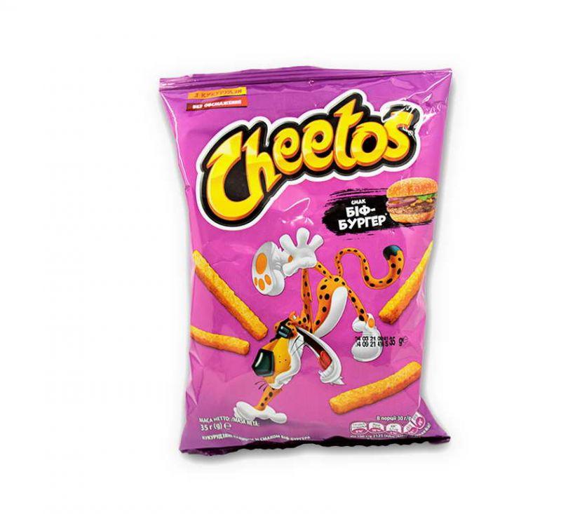 Палички кукурудзяні зі смаком «Біф-Бургер» 35 г Cheetos