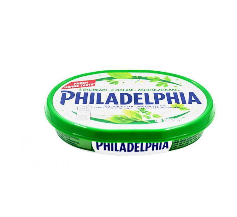 М'який крем-сир з зеленню 69% 125 г Philadelphia