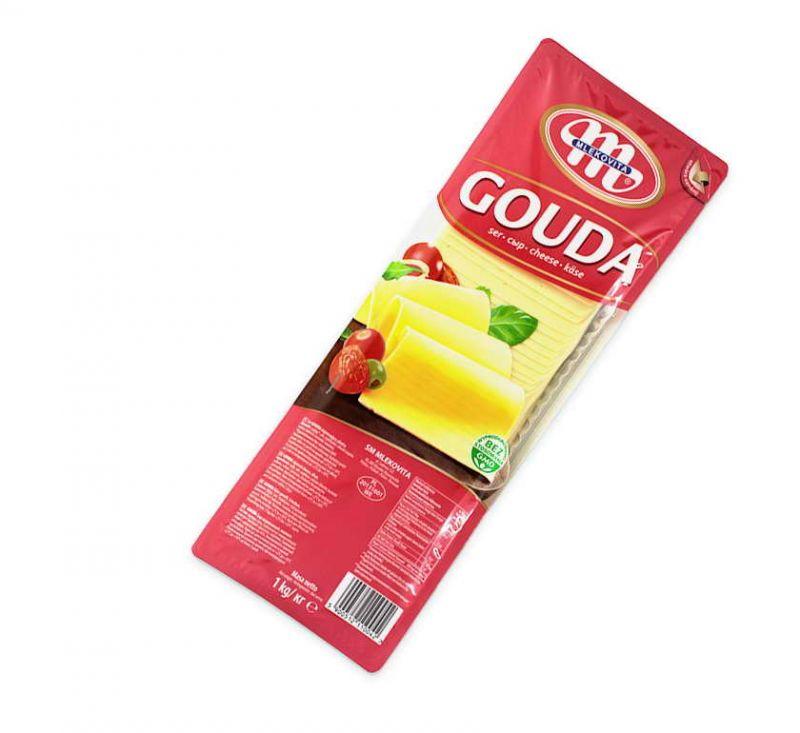 Сир Гауда 45% 1 кг Mlekovita