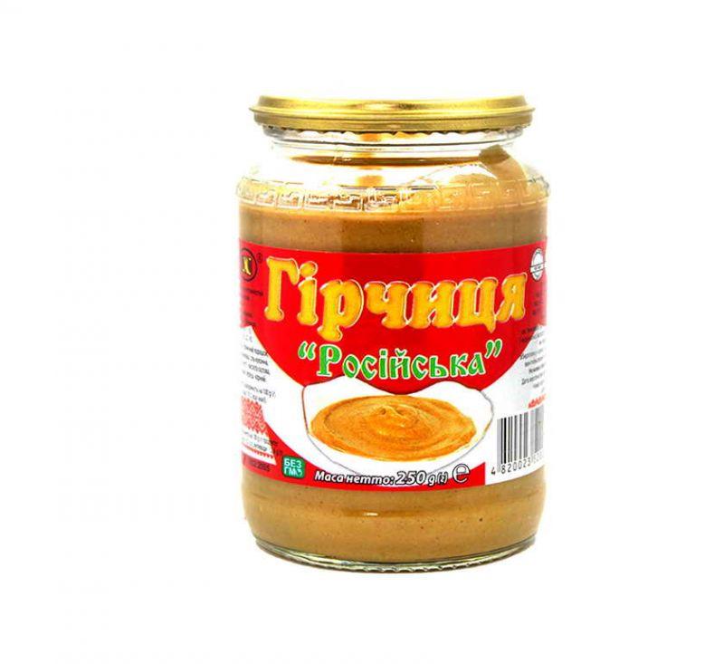 Гірчиця «Російська» 250 г ВХС