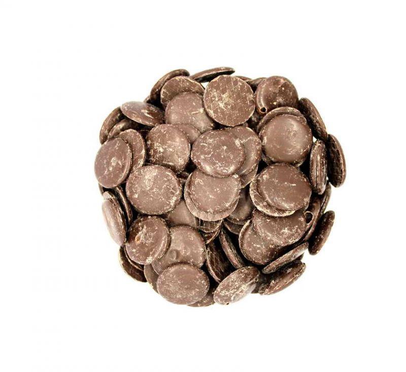 Глазур шоколадна чорна чіпси
