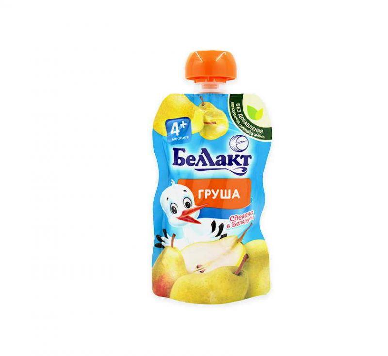 Пюре з груш для харчування дітей раннього віку 90 г БелЛакт