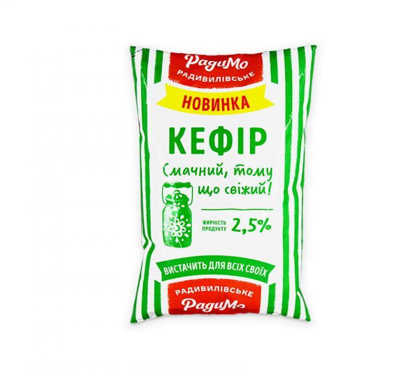 Кефір 2,5% 890 г Радимо