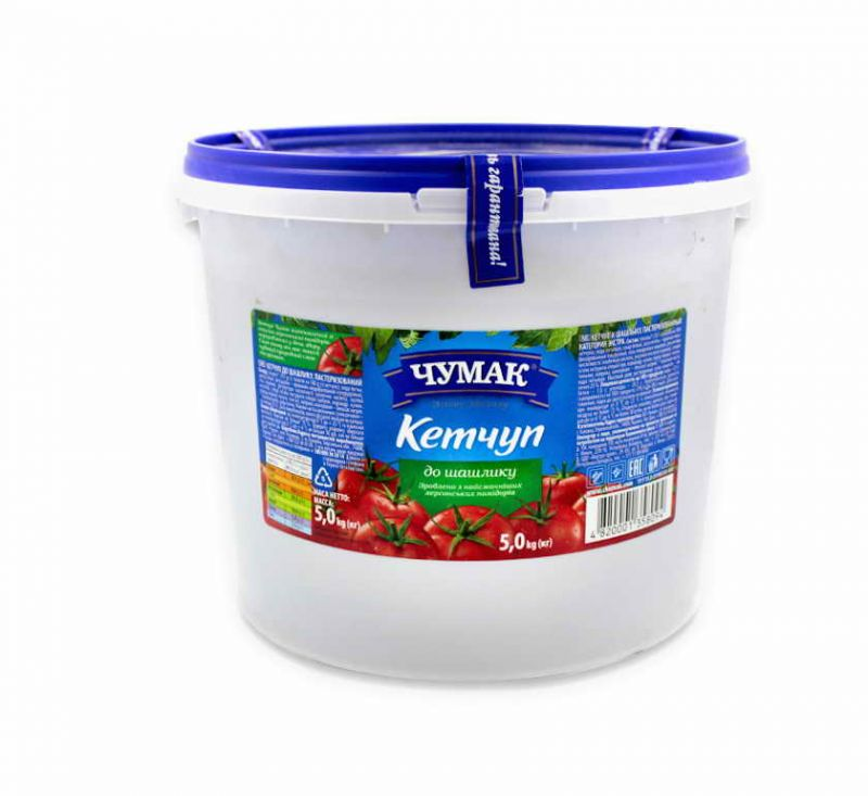 Кетчуп до шашлику 5 кг Чумак