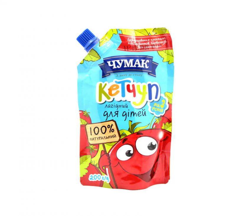 Кетчуп для дітей 200 г Чумак
