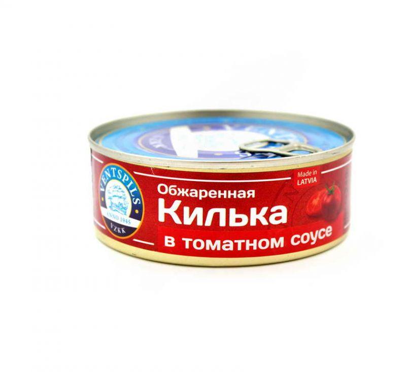 Кілька в томатному соусі 240 г Ventspils