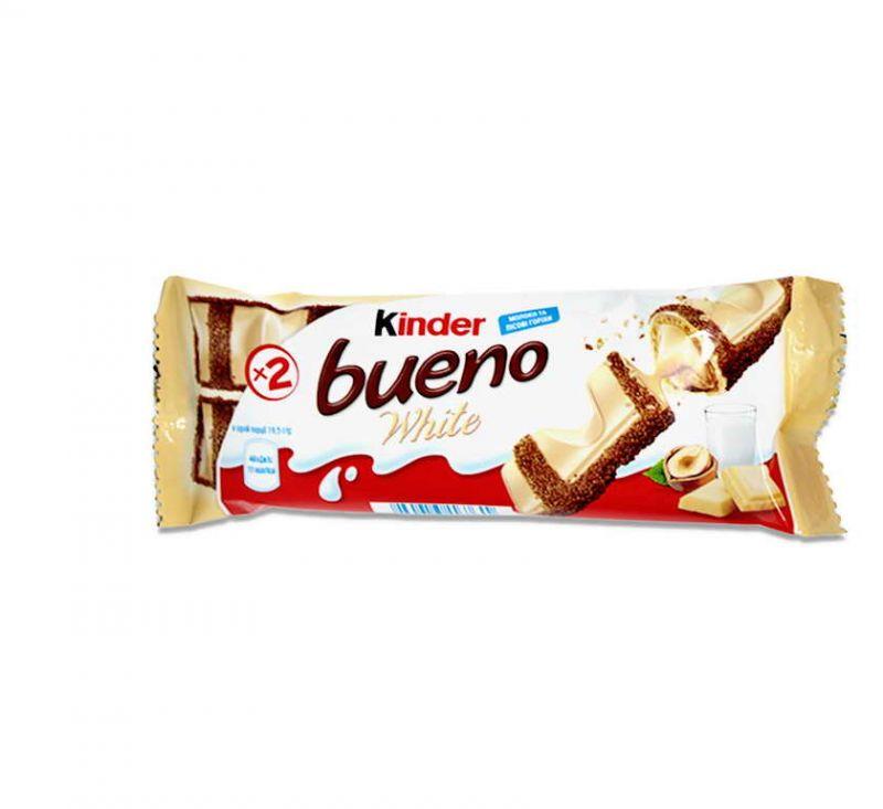 Батончик Bueno з молочно-горіховою начинкою 39 г Kinder
