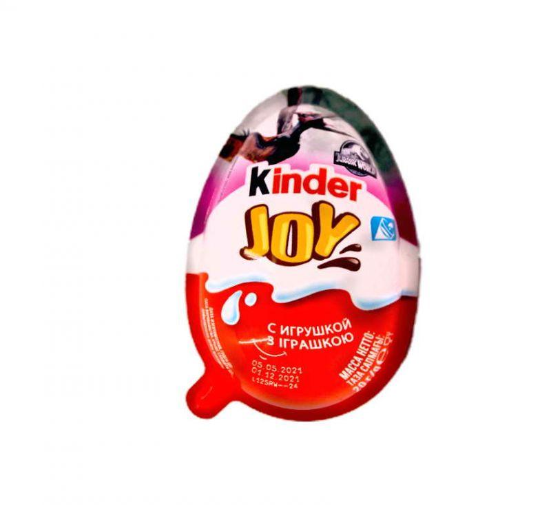 Шоколадне яйце з іграшкою 20 г Kinder Joy