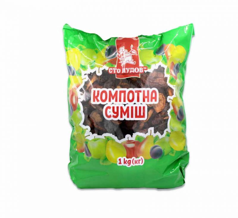Компотна суміш 1 кг Сто Пудов