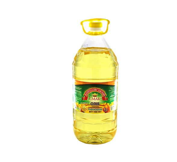 Олія рафінована 3 л Королівський Смак