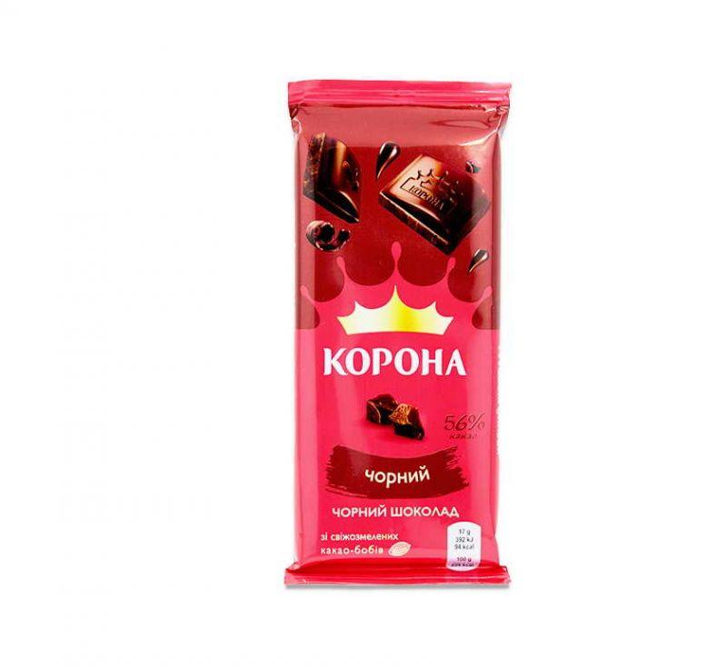 Шоколад чорний 85 г Корона