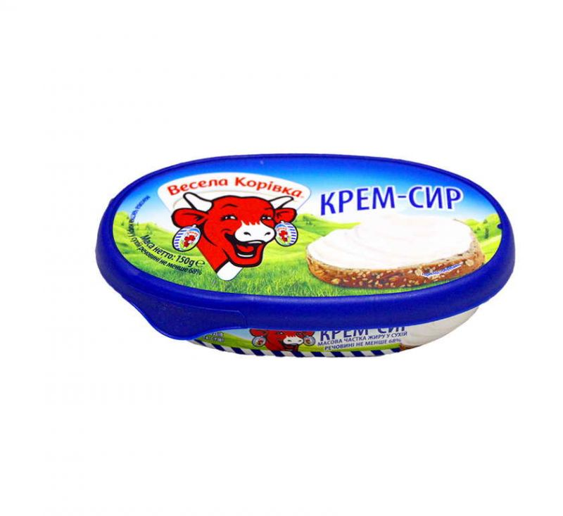Крем-сир 68% 150 г Весела Корівка