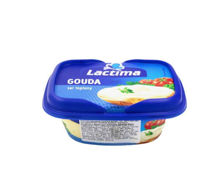 Сир плавлений Гауда 40% 130 г Lactima