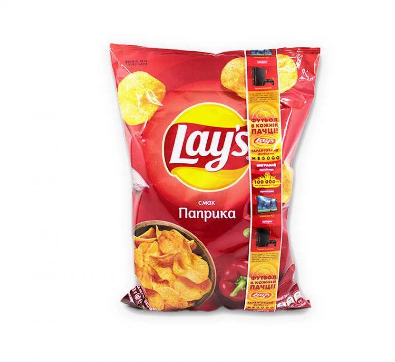 Чіпси картопляні зі смаком «Паприка» 133 г Lays
