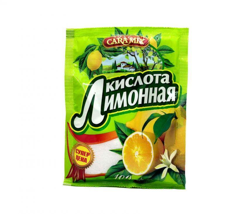 Приправа Лимонна кислота 100 г  CaraMix