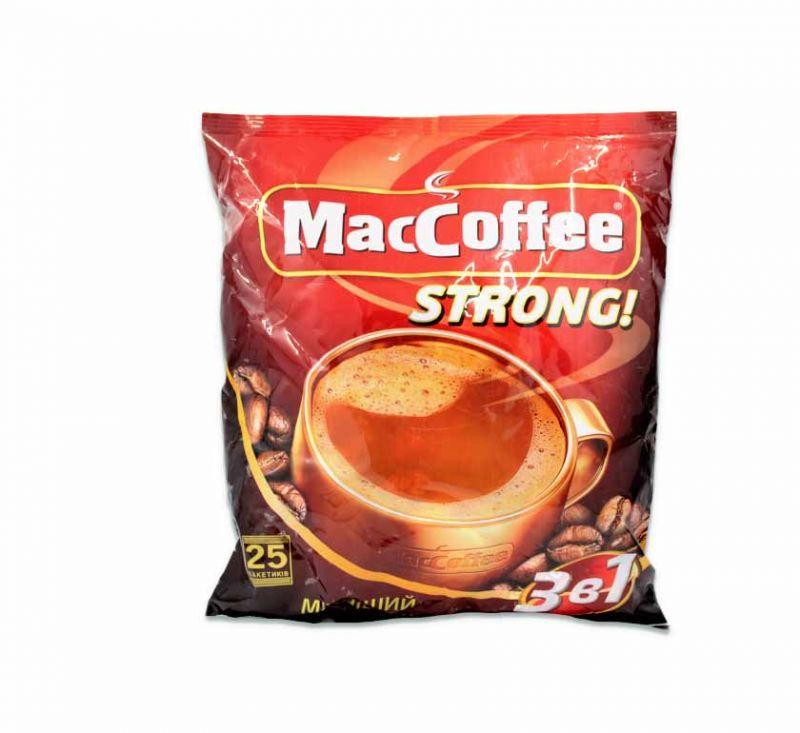 Напій кавовий Strong 25 пакетів MacCoffe