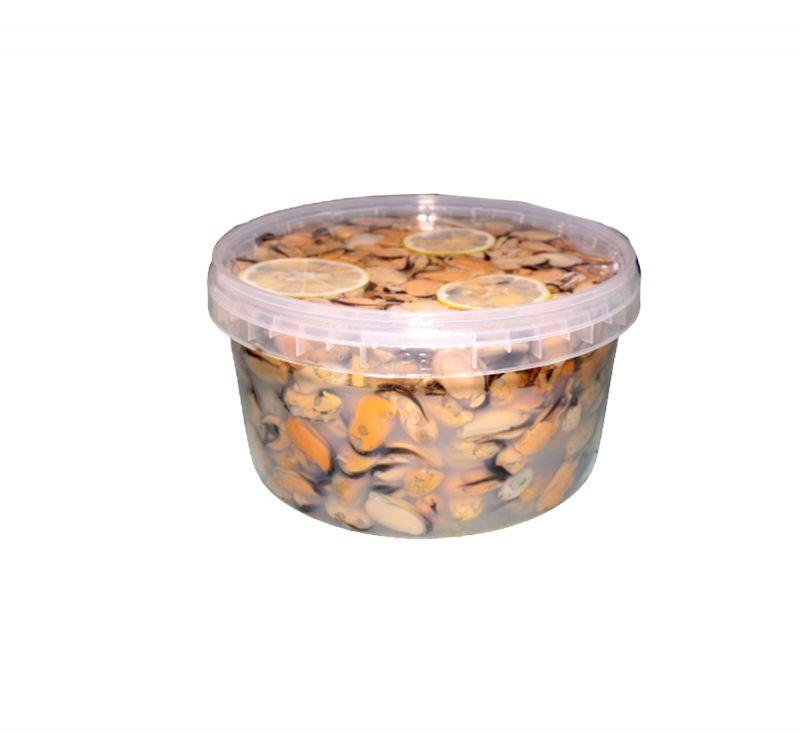 Мідії чілійські в олії 3 кг Романчук