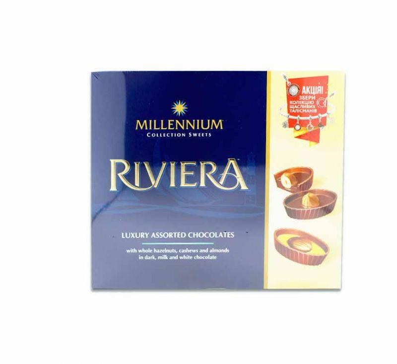 Шоколадні цукерки «Riviera» Асорті 125 Millennium