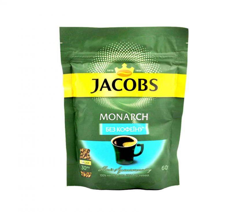 Кава Monarch 60 г без кофеїну  Jacobs