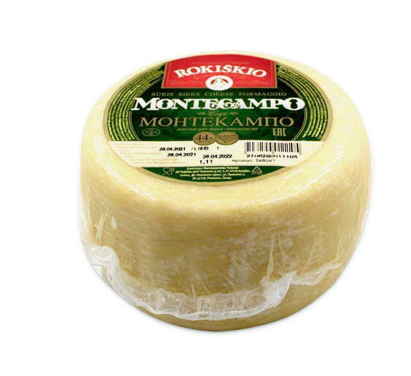 Сир Монтекампо 44% Rokiskio