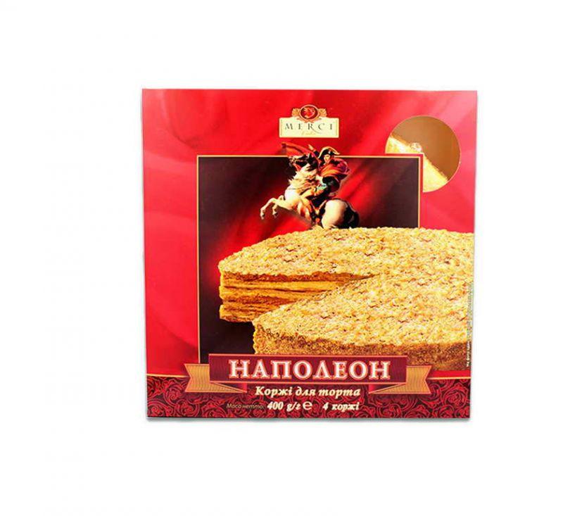 Коржі для торта «Наполеон» 400 г Merci