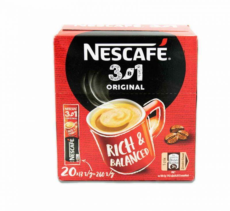 Напій кавовий розчинний 3 в 1 «Original» 104 г Nescafe