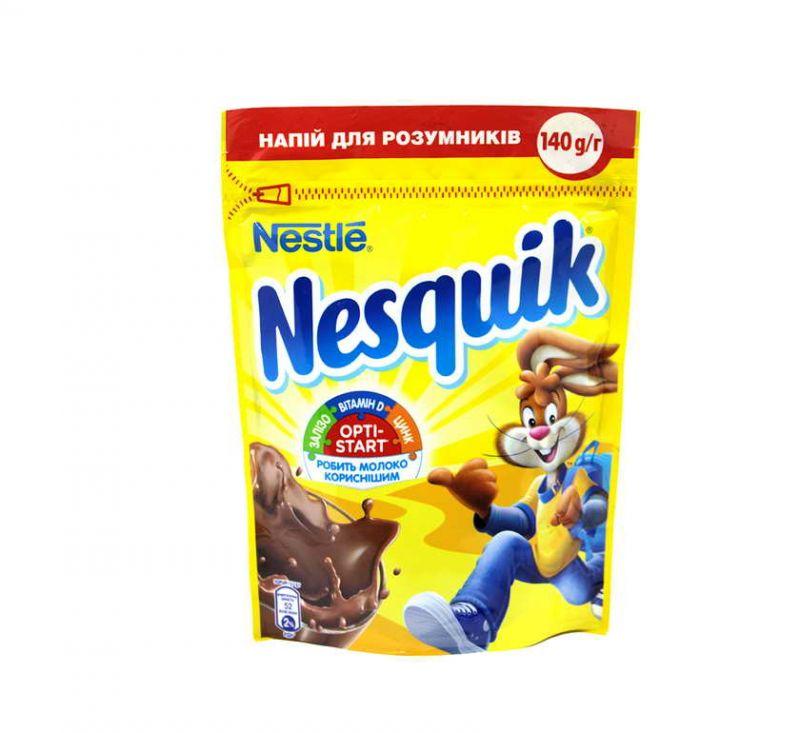 Напій на основі какао-порошку  140 г Nesquik