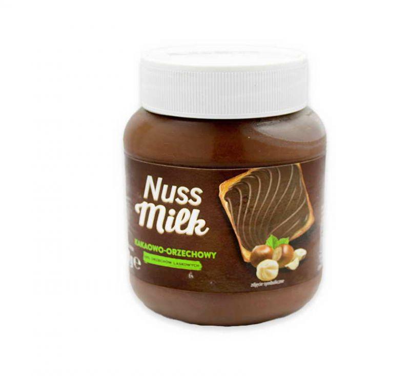 Паста зі смаком какао та горіха 400 г Nuss Milk