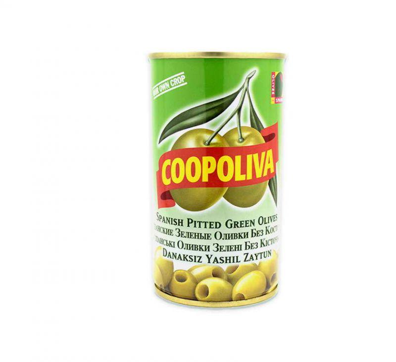 Олива без кісточки 370 г Coopoliva