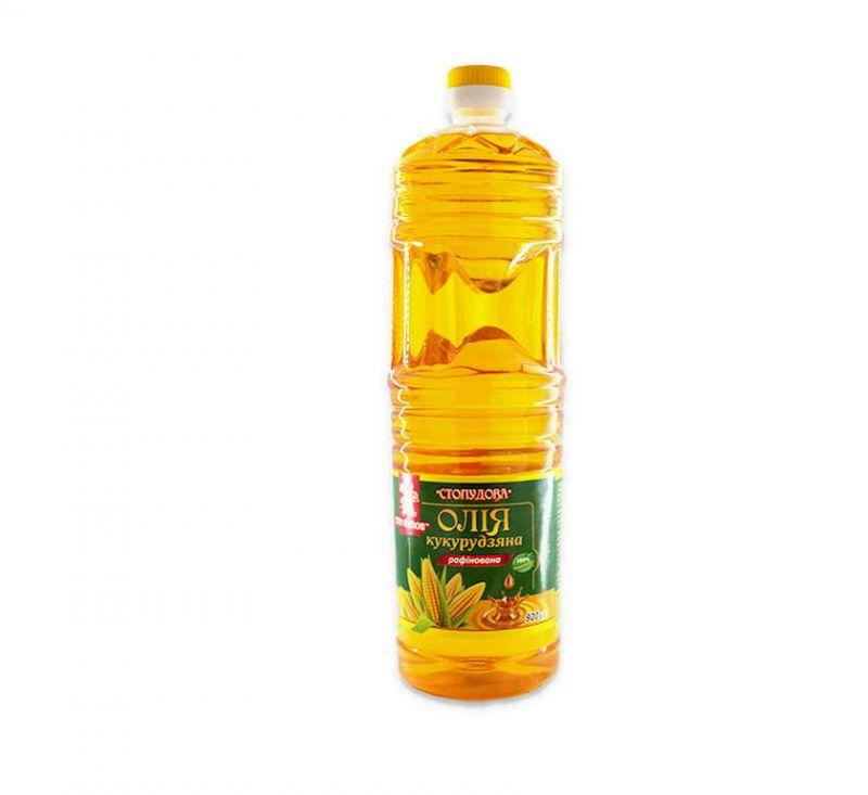 Олія рафіновака кукурудзяна 920 мл Сто пудов