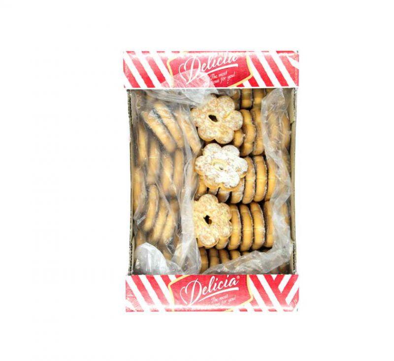 Печиво здобне «Домашнє» з цукровою пудрою 900 г Деліція