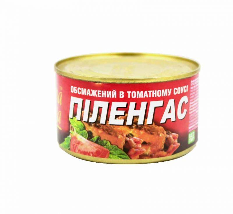 Піленгас в томатному соусі 240 г Знатна Рибка