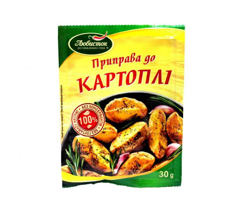 Приправа До картоплі 30 г Любисток