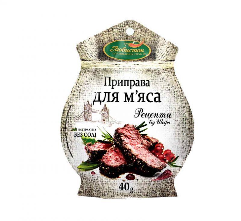 Приправа Для м'яса 40 г Любисток