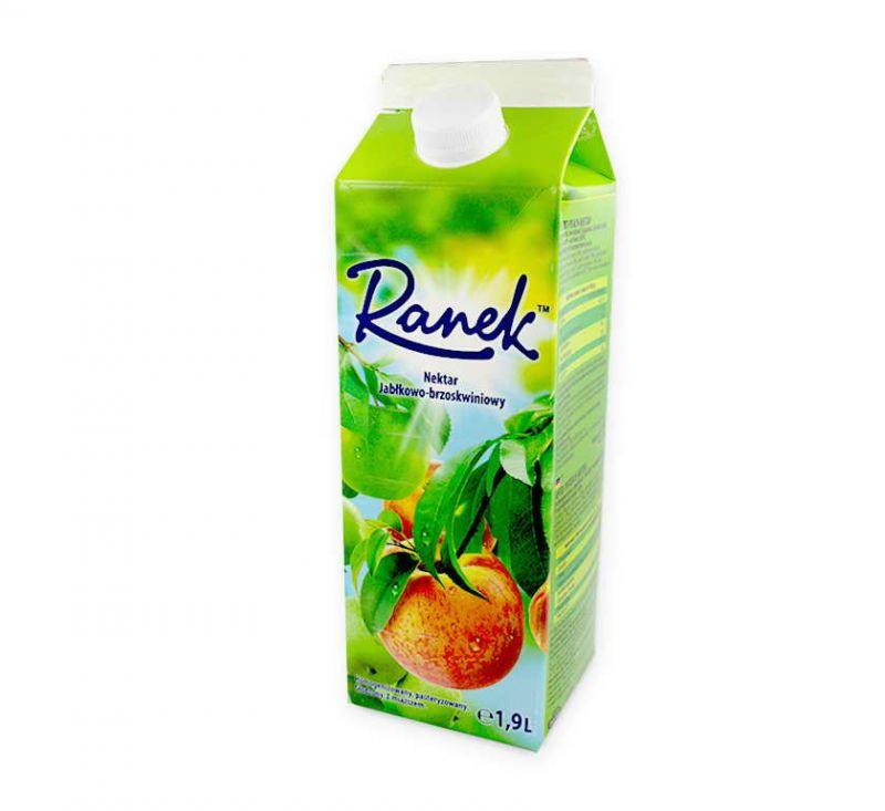 Сік персиковий з м'якоттю 1,9 л Ранок