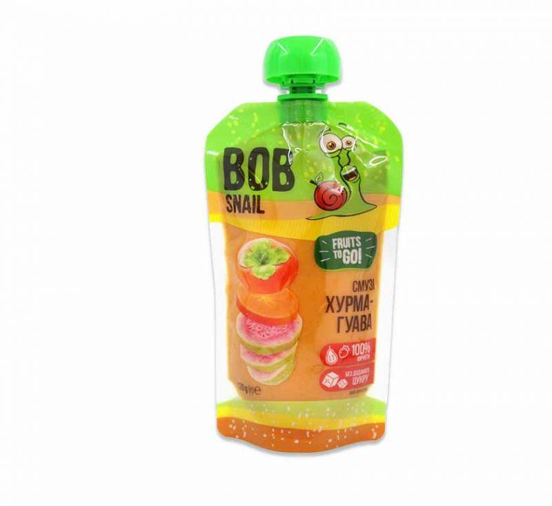 Пюре фруктове «Смузі хурма-гуава» 120 г Bob Snail