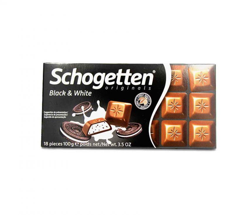 Шоколад з начинкою в асортименті 100 г Schogetten