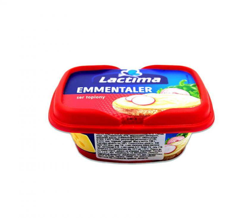 Сир плавлений «Емменталь» 40% 130 г Lactima
