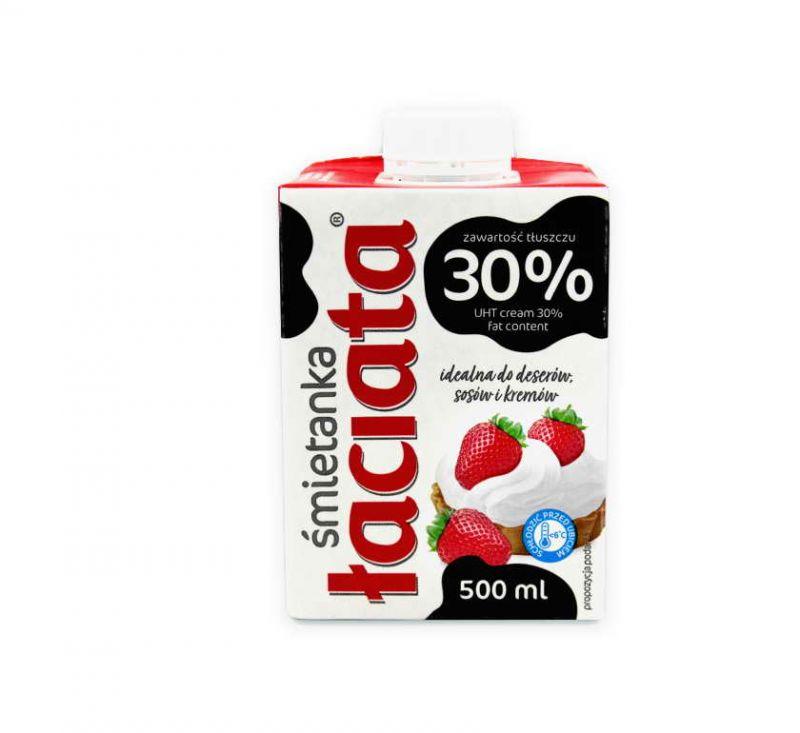 Вершки ультрапастеризовані 30% 500 г Laciata